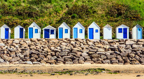 White beach houses. Stock Image