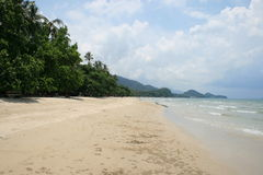 White beach, Koh Chang, Thailand. Stock Photography
