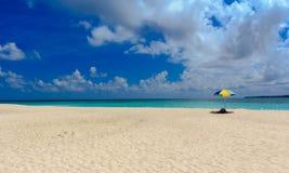 White beach resort royalty free stock photography