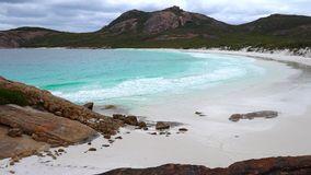 Thistle Cove, Cape Le Grand National Park, Western Australia stock video footage
