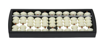 White Bead Abacus Royalty Free Stock Images