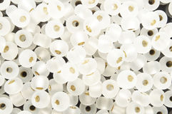 White beads Stock Image