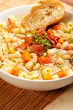White Bean and Pasta Soup Royalty Free Stock Image