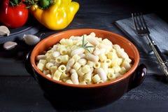 White Bean and pasta Royalty Free Stock Photos