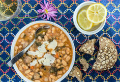 White Bean soup Stock Photos