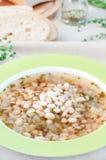 White bean soup Stock Photography