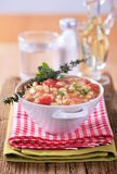 White bean stew Royalty Free Stock Photography