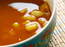 White Beans Curry Stock Image