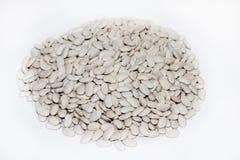 White beans on the pile Royalty Free Stock Photo