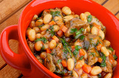 White Beans Stew Stock Images