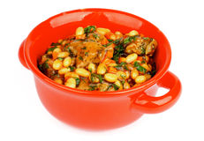 White Beans Stew Royalty Free Stock Images
