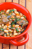 White Beans Stew Stock Image