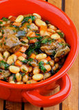 White Beans Stew Royalty Free Stock Photography