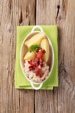White Beans With Potatoes And Sausages Royalty Free Stock Photography