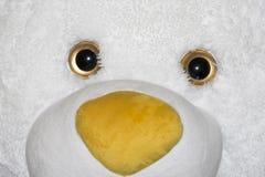Teddy bear white face royalty free stock photos