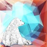 White bear. Stock Image