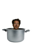 Bearded man cooked Stock Photography