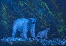 White bears Stock Photography