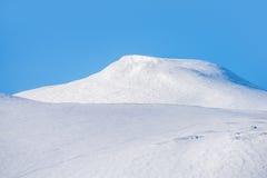 White beautiful mountain Royalty Free Stock Images