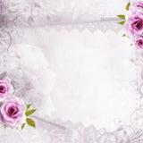 White beautiful wedding background Stock Photos