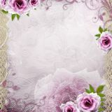 White beautiful wedding background Royalty Free Stock Images