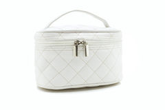 White beauty bag Royalty Free Stock Images