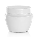 White beauty hygiene container Stock Photography