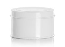 White beauty hygiene container Royalty Free Stock Photo