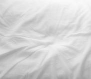 White bed sheets Royalty Free Stock Image