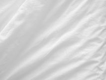 White bed sheets Stock Photo