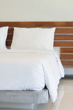 White bedclothes Royalty Free Stock Photography