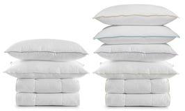 White bedding. Royalty Free Stock Photos