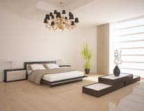 White bedroom Royalty Free Stock Photography