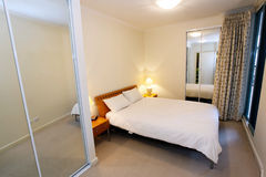 White bedroom Royalty Free Stock Photo