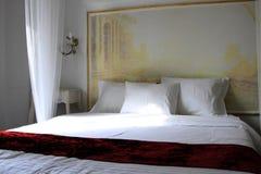 White bedroom Stock Photos