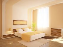 White bedroom furniture Stock Photo