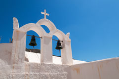 White Belfry Stock Photography