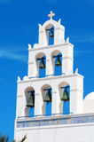 White Belfry Stock Photos