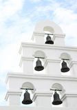 White bell tower Royalty Free Stock Photography