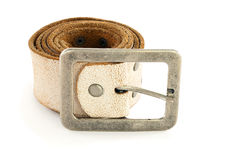 White belt. Royalty Free Stock Photography
