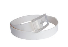 A white belt Royalty Free Stock Photos