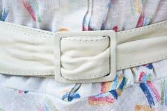 White belt Stock Image