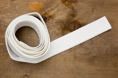 White belt martial arts Royalty Free Stock Photography