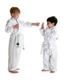 White Belts Stock Photo