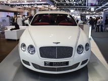 White Bentley Royalty Free Stock Photo