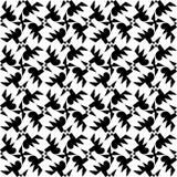 white bezszwowy czarny wzoru Zdjęcia Stock