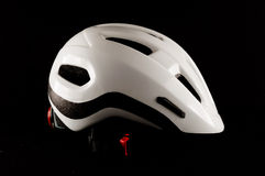 White Bicycle Bike Safety Helmet Royalty Free Stock Photography