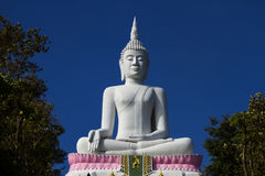 White big buddha Royalty Free Stock Photo