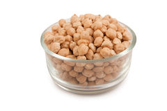 white and big Chickpea Stock Image