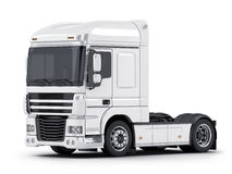 White big truck Royalty Free Stock Images